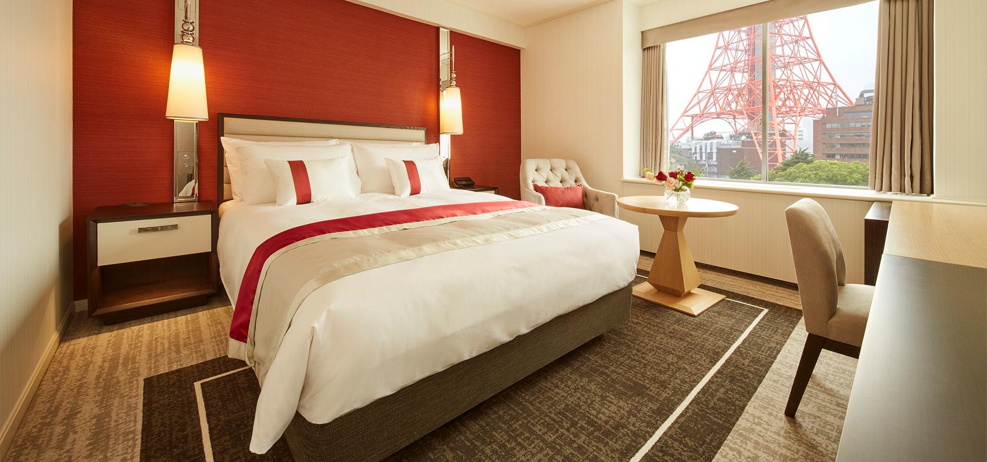 高級單床雙人房(高樓層)