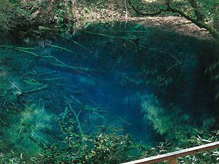 Juniko The 12 Lakes, Aoike Blue Pond