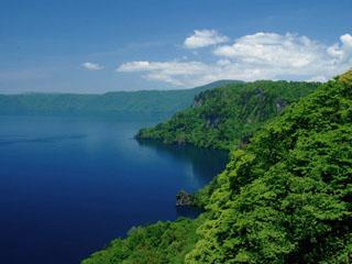 Lake Towada, Kankodai Lake-viewing platform
