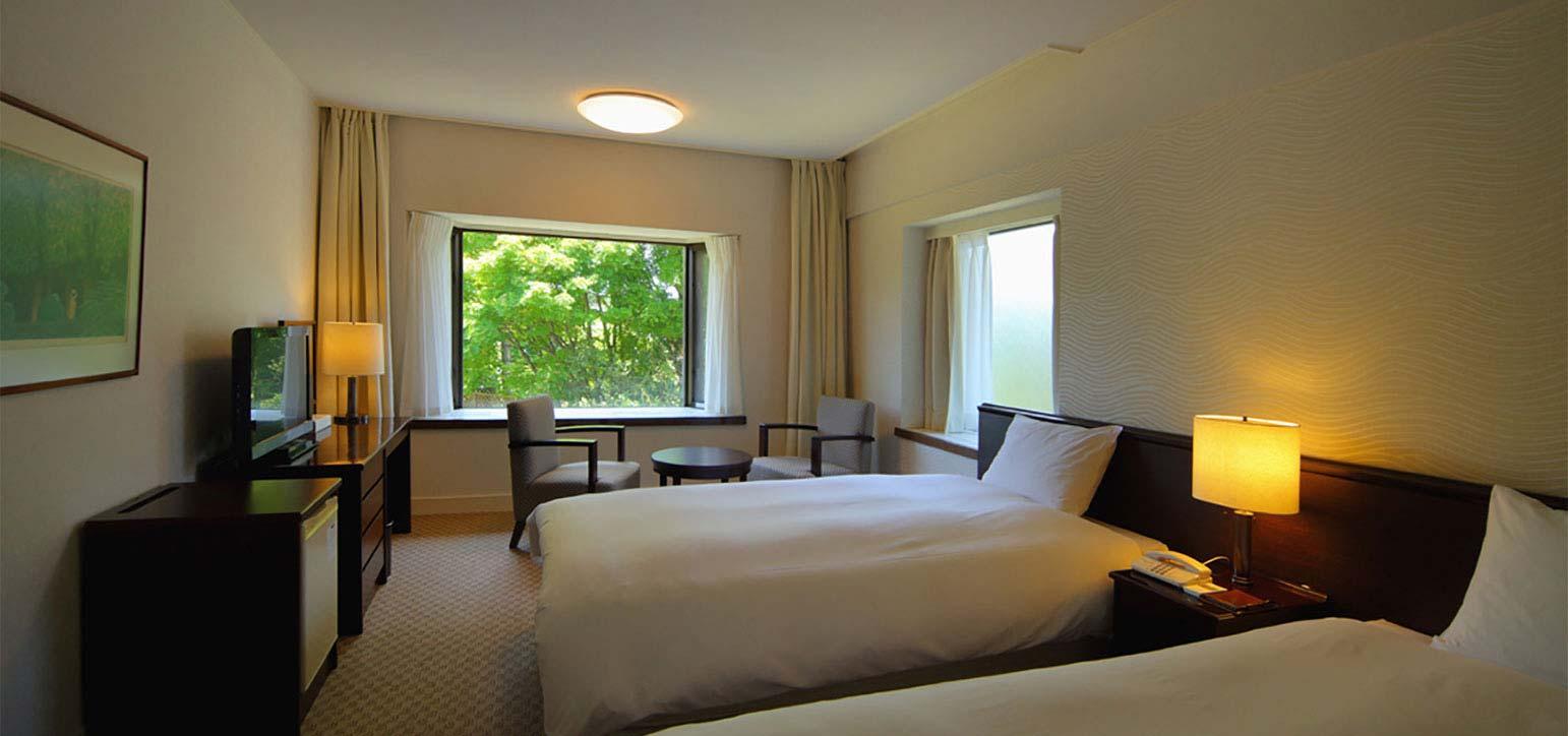 山景雙床房