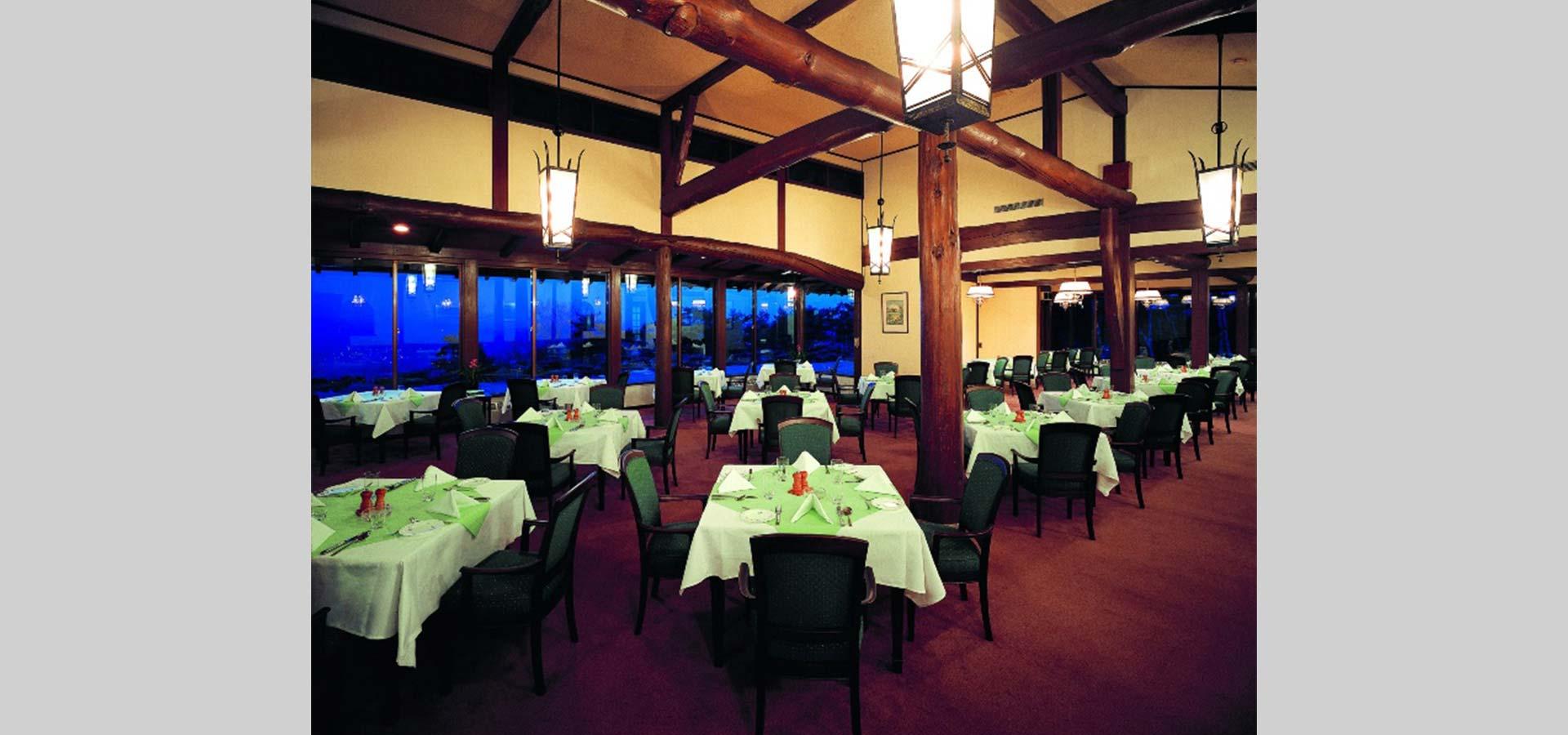 호텔 레스토랑 (양식과 일식)
