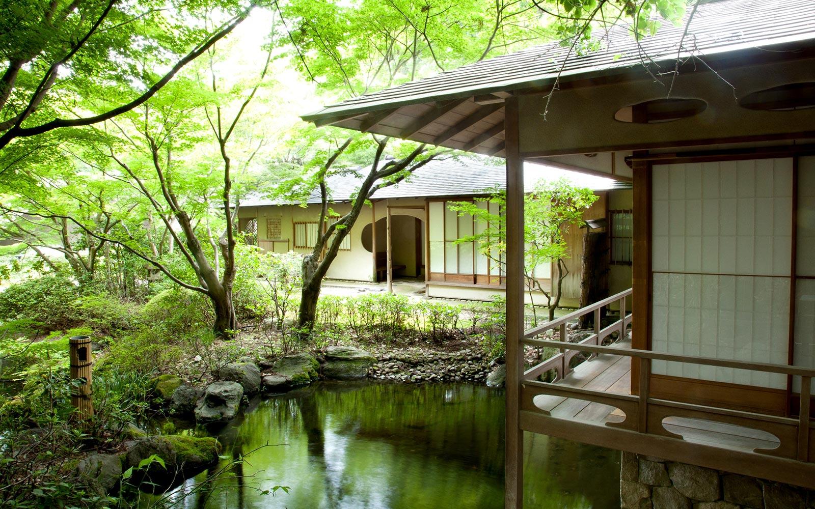 Traditional Japanese Tea House