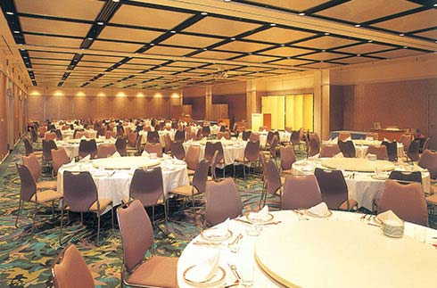 Main banquet hall, Dinner style
