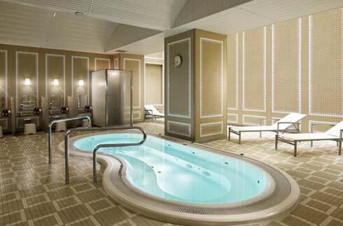 Sauna, Whirlpool Bath