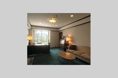 Executive Suite Room (Living room)
