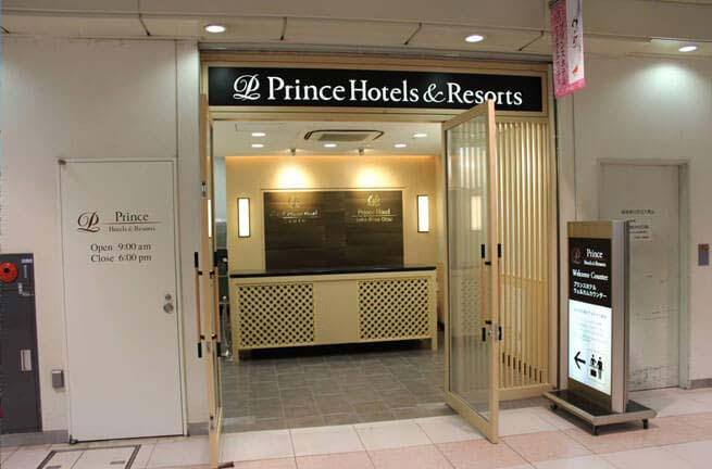Prince Hotel Welcome Counter