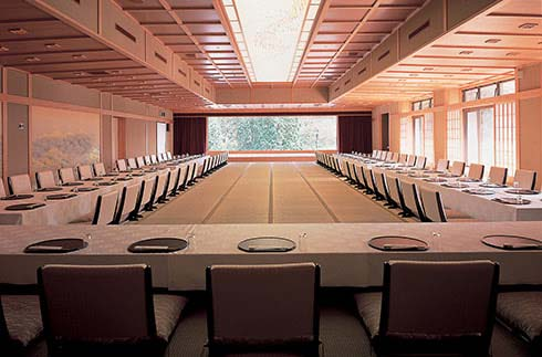 "Banquet Hall ""Ho-Oh-No-Ma"" (Ryuguden annex)"