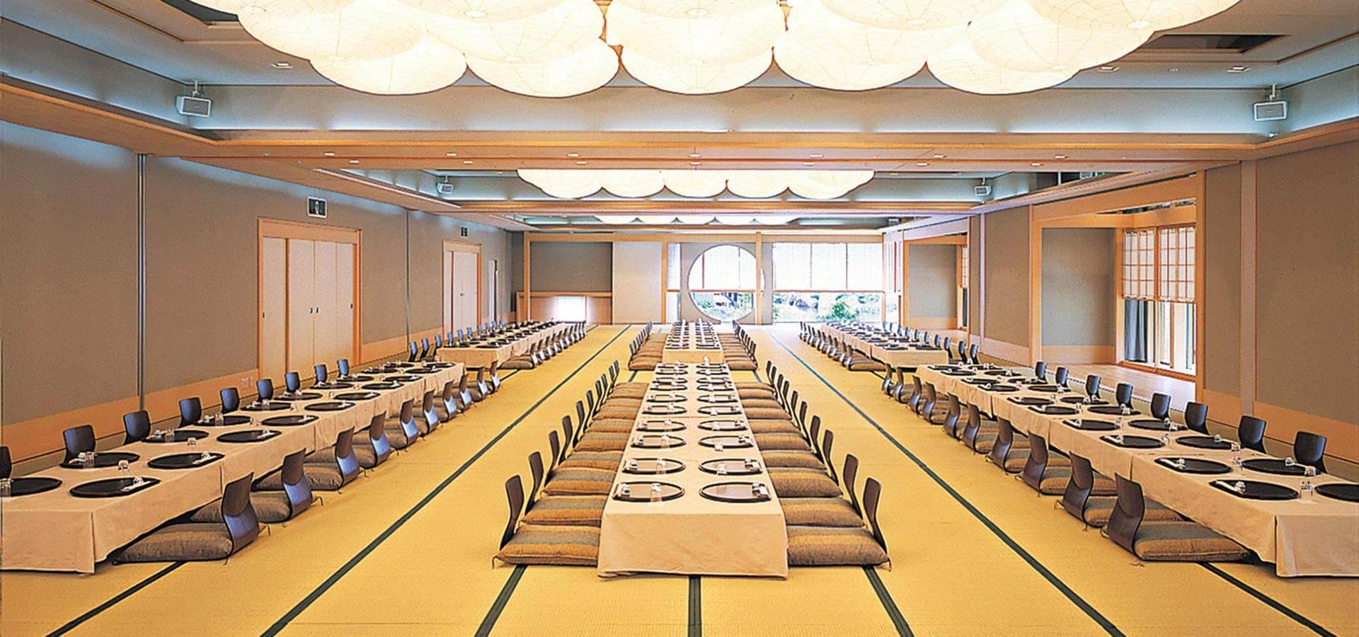"""Main Banquet Hall """"O-Hiroma"""""""