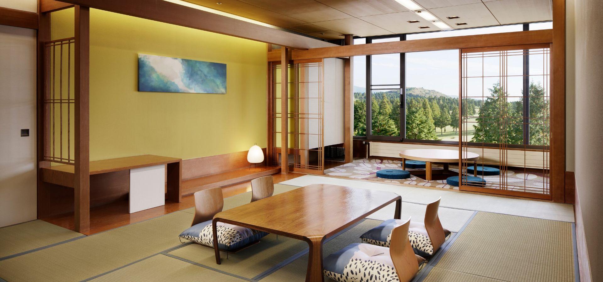 Japanese Corner Room