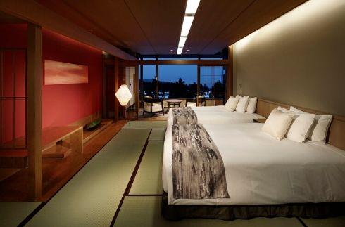 日式至尊雙床房